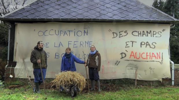 Les occupants de la ferme des Bouillons